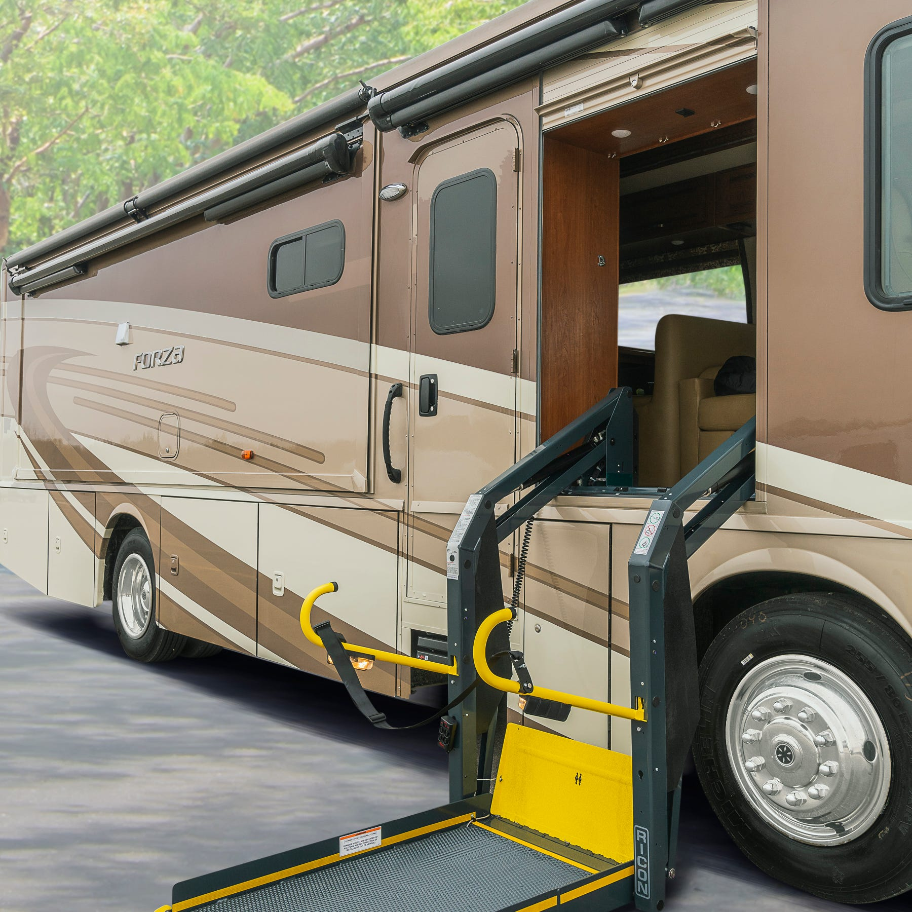 Iowa's Winnebago Industries rolls out three wheelchair-friendly motorhome models