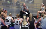 Waukon coach Gene Klinge reflects on his years as a coach as he preapred for his 1,000th career win in January 2013.