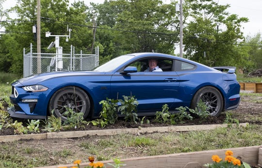 Jeremy Clarkson drives a Ford Mustang RTR in the January 18 season opening episode of 'The Grand Tour' on Amazon Prime.