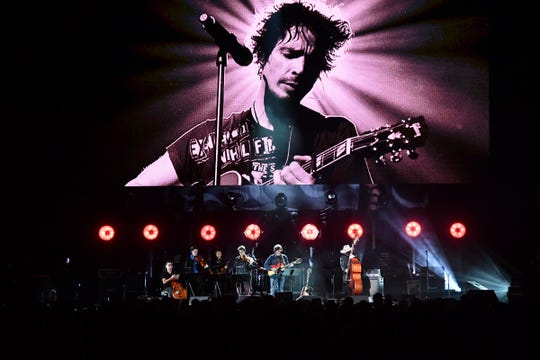 """Ryan Adams performs at the """"I Am The Highway: A Tribute to Chris Cornell"""" honoring the late Soundgarden singer at The Forum in Inglewood, CA on Wednesday, January 16, 2019."""