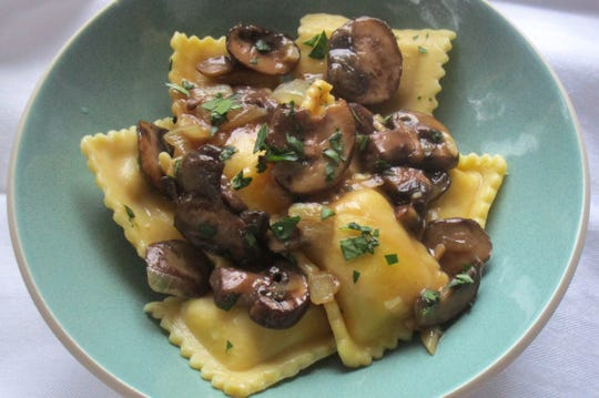 Easy, nutritious ravioli dish is just what the family ordered
