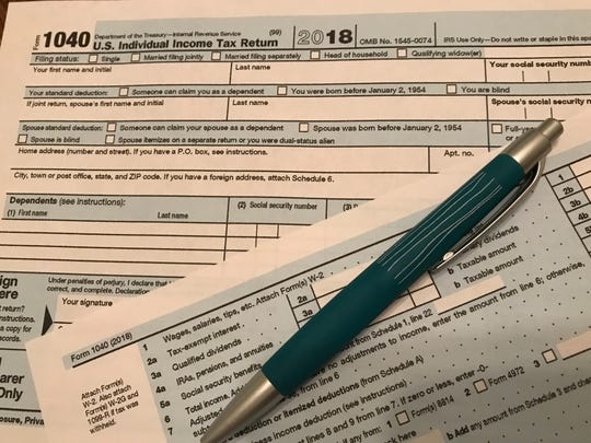 A new , compact 1040 rolls for 2018 federal income tax returns. But many tax filers will still need to use schedules to file their returns.