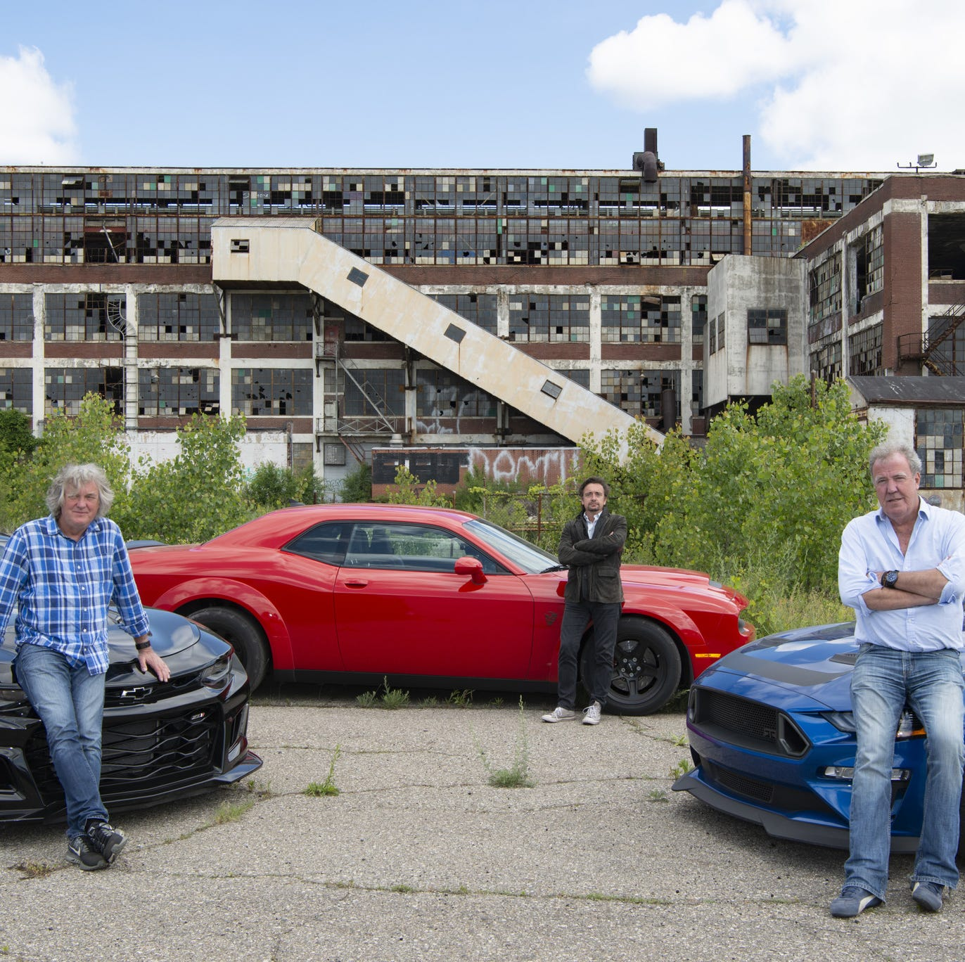 Amazon's 'Grand Tour' drives like a maniac across Detroit in new episode