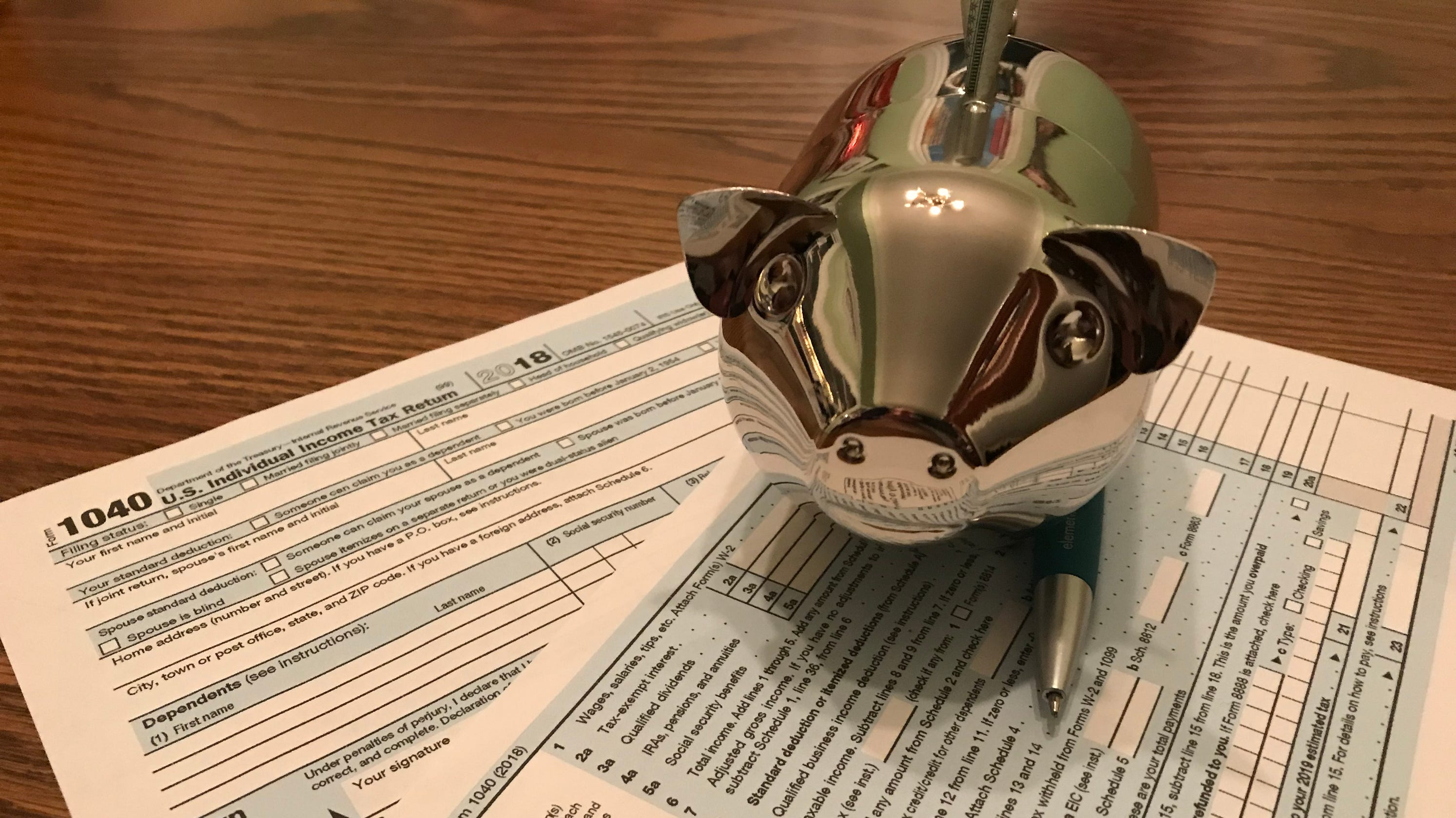 New federal income tax form may catch you by surprise