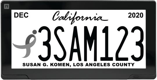 New digital license plates, called the Rplate, soon will be available in Michigan. The plates use a digital, high-definition display and are electronic and customizable.