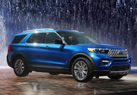 The Ford Explorer. This one is a hybrid version.