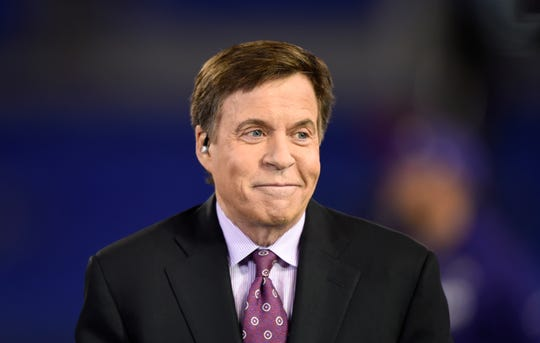 NBC sportscaster Bob Costas parted ways with his longtime employer, providing no further details.