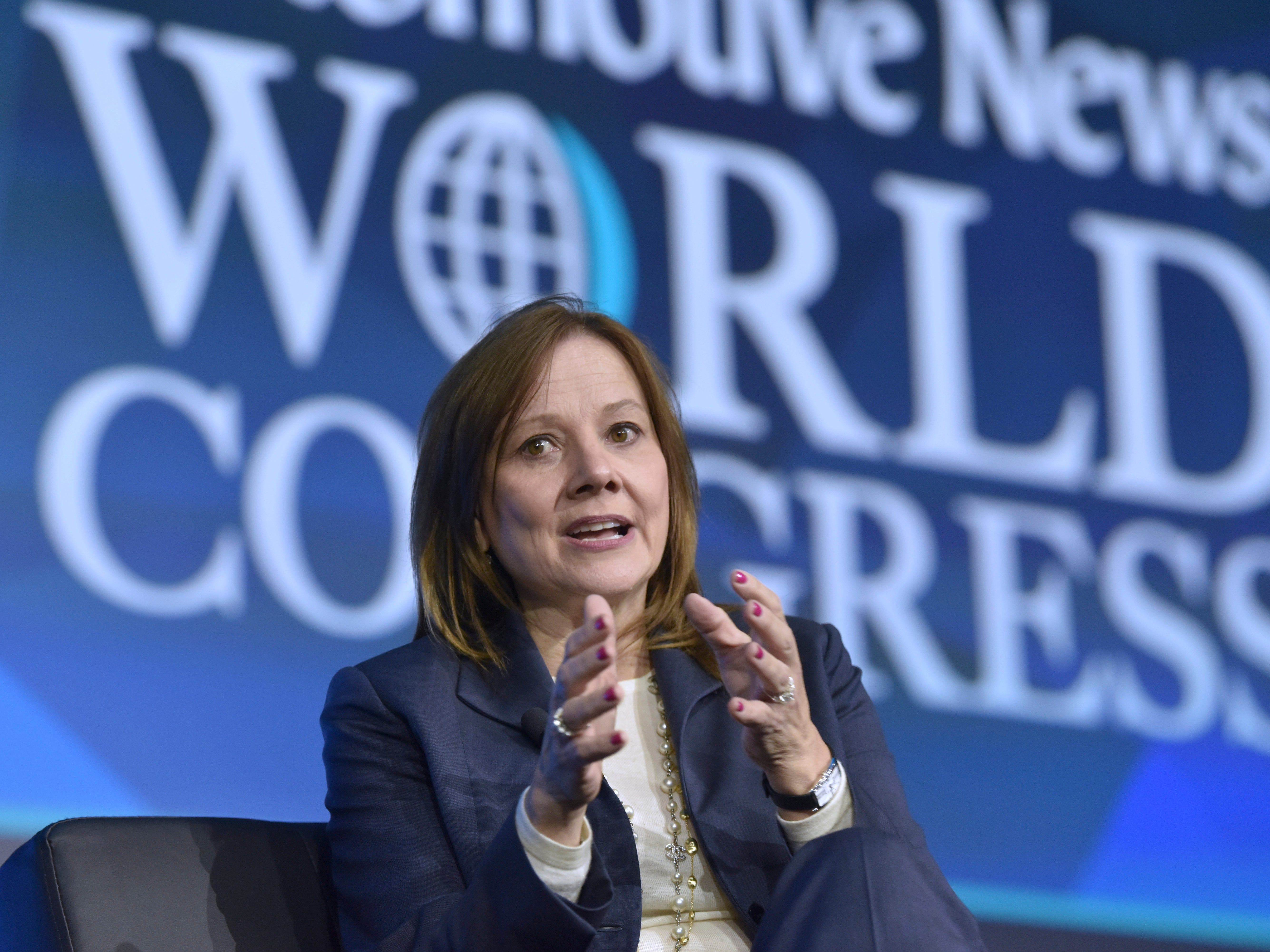 GM's Barra: We have more products to build in U.S.