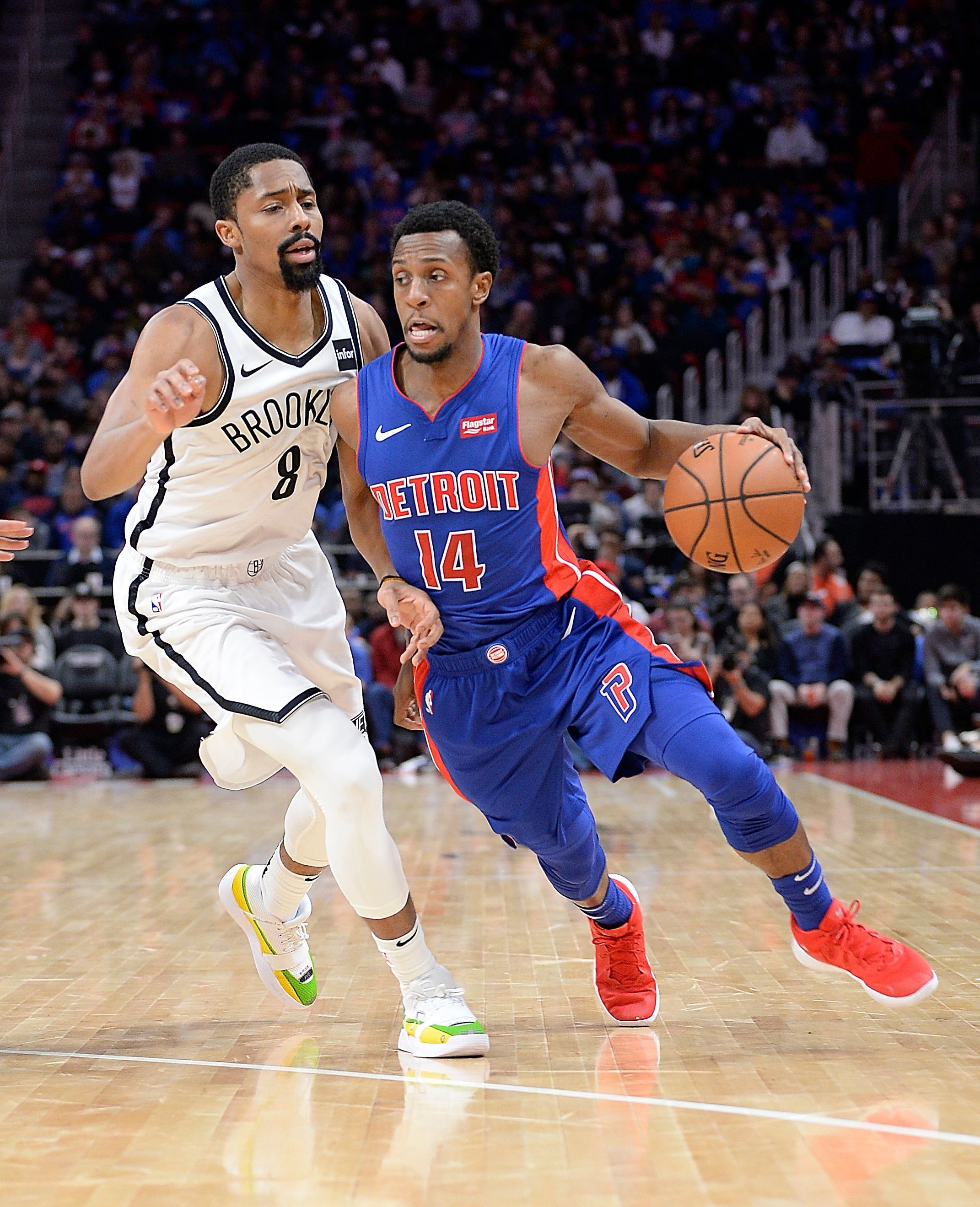 Pistons guard Ish Smith returned earlier this week after missing 19 games due to injury.