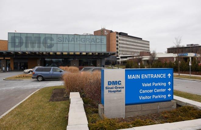 DMC Sinai Grace Hospital in northwest Detroit on  January 17, 2019.