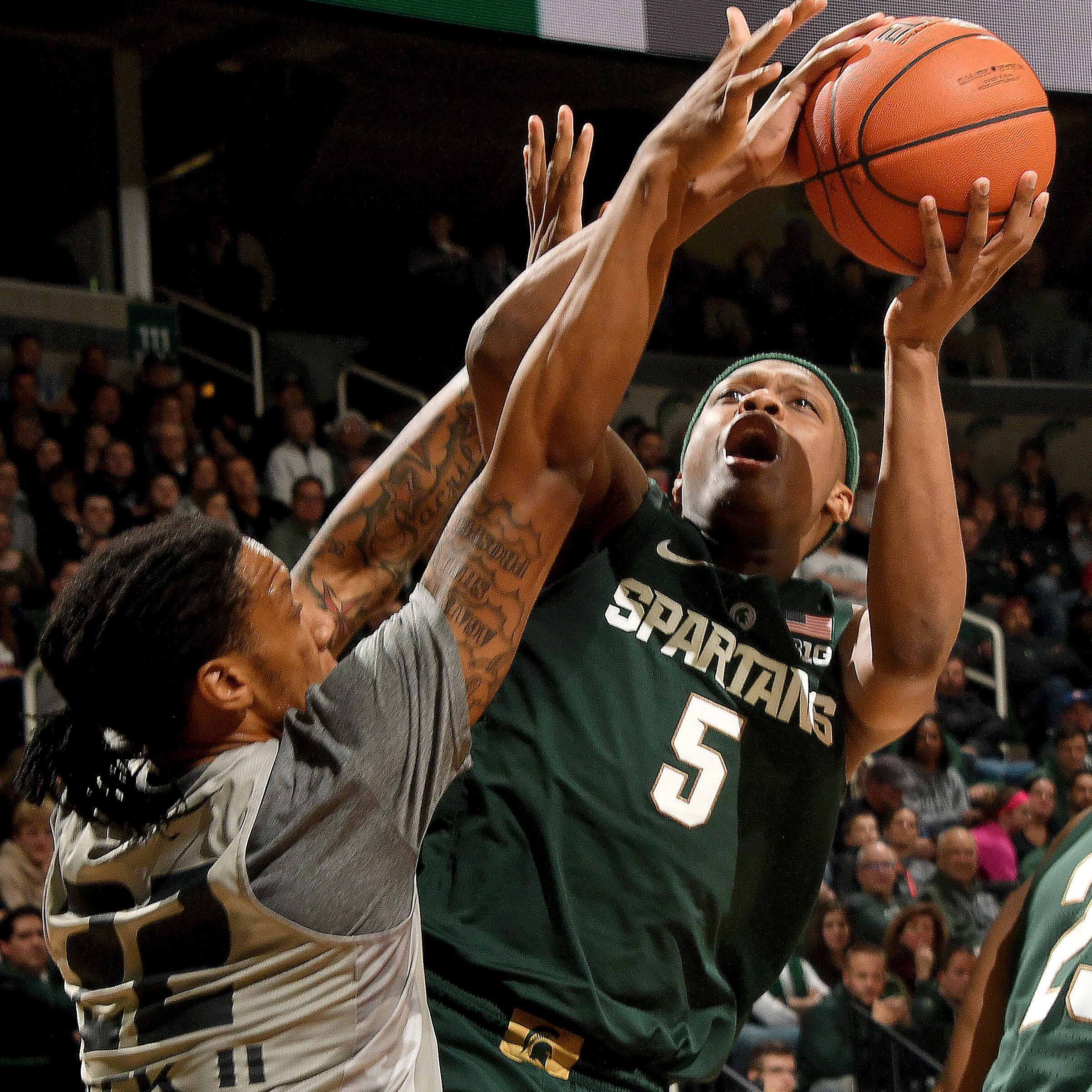 Michigan State's Cassius Winston on Sports Illustrated's midseason All-America 2nd team