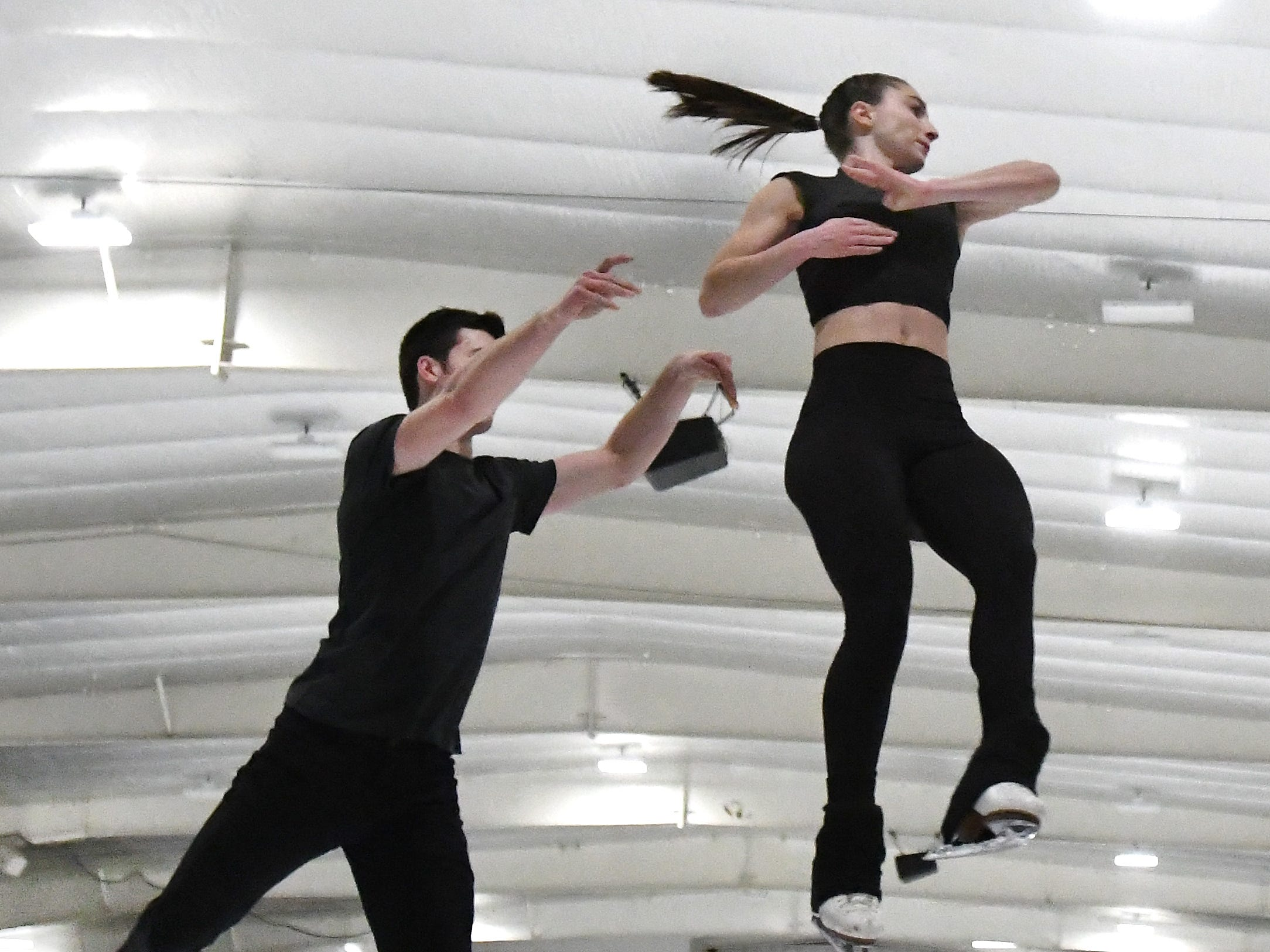 Young, local skaters put future on ice in national competition