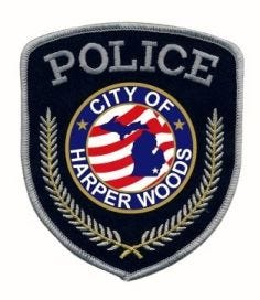 Harper Woods Police patch