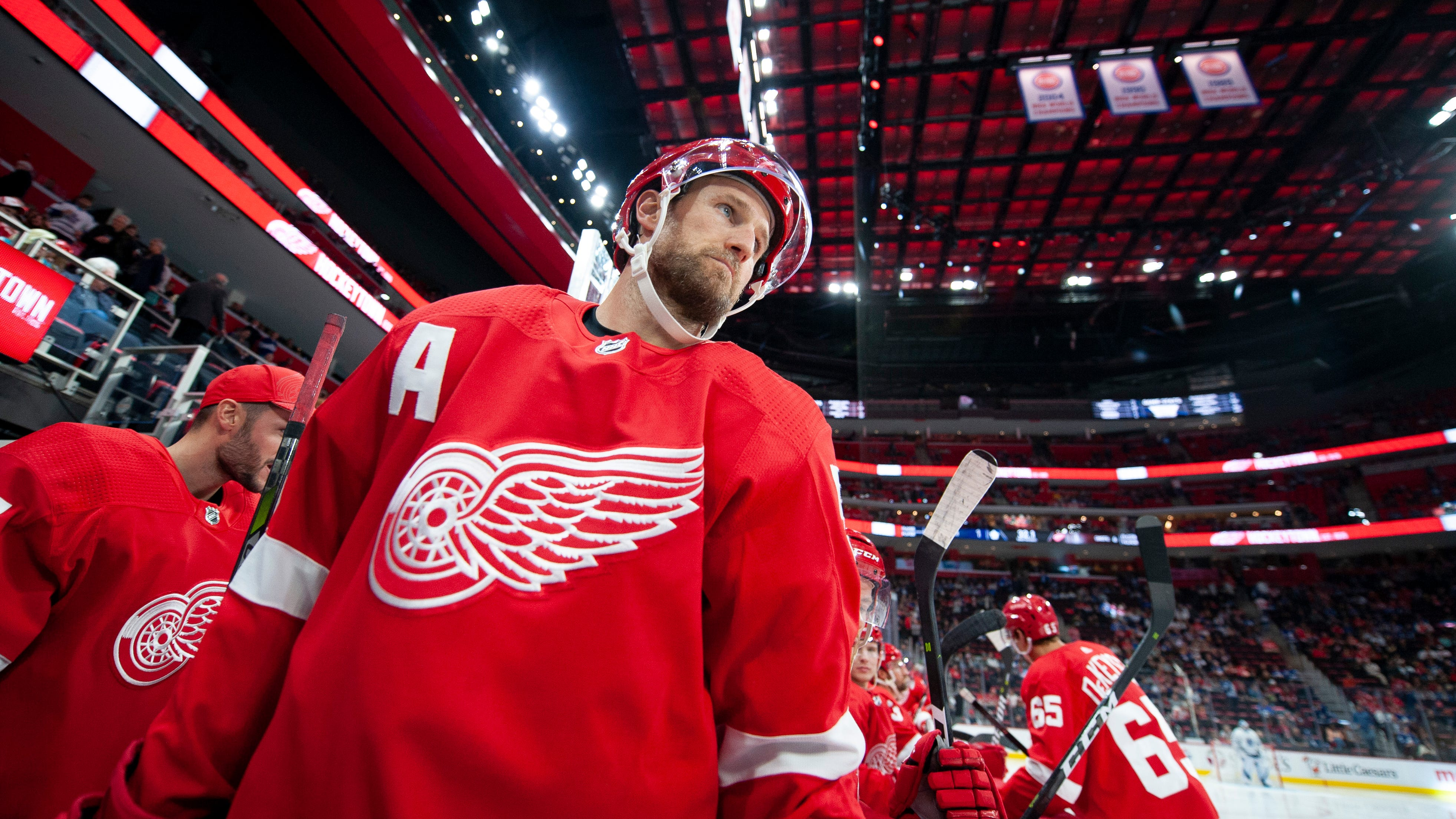 Red Wings defenseman Niklas Kronwall is in his 15th NHL season.