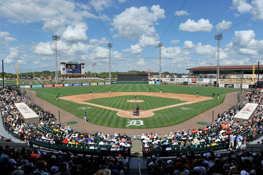 The Tigers unveiled their 2019 broadcast schedule for spring training on Thursday.