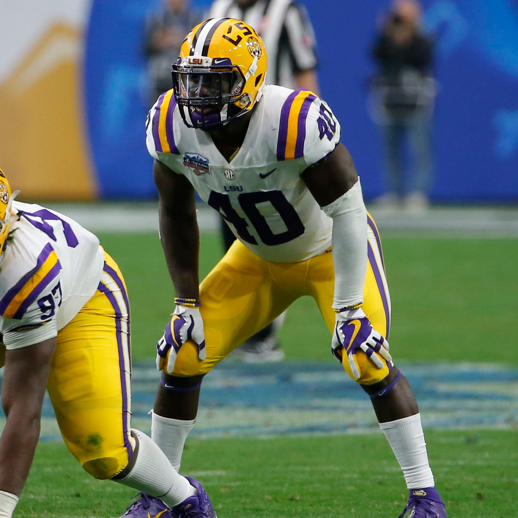 Lions take LSU linebacker Devin White in Mel Kiper's first mock draft
