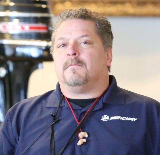 Bob Krudwig of Mercury Marine.