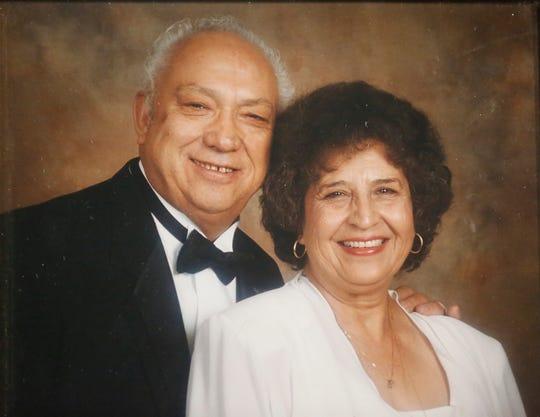 A photo of Mercury Marine's Fernando Tovar's parents, Jorge and Luz.