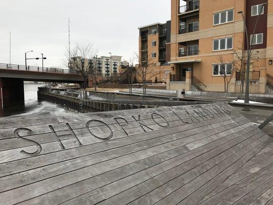 Shopko Landing is part of CityDeck Landing on downtown Green Bay's riverfront.