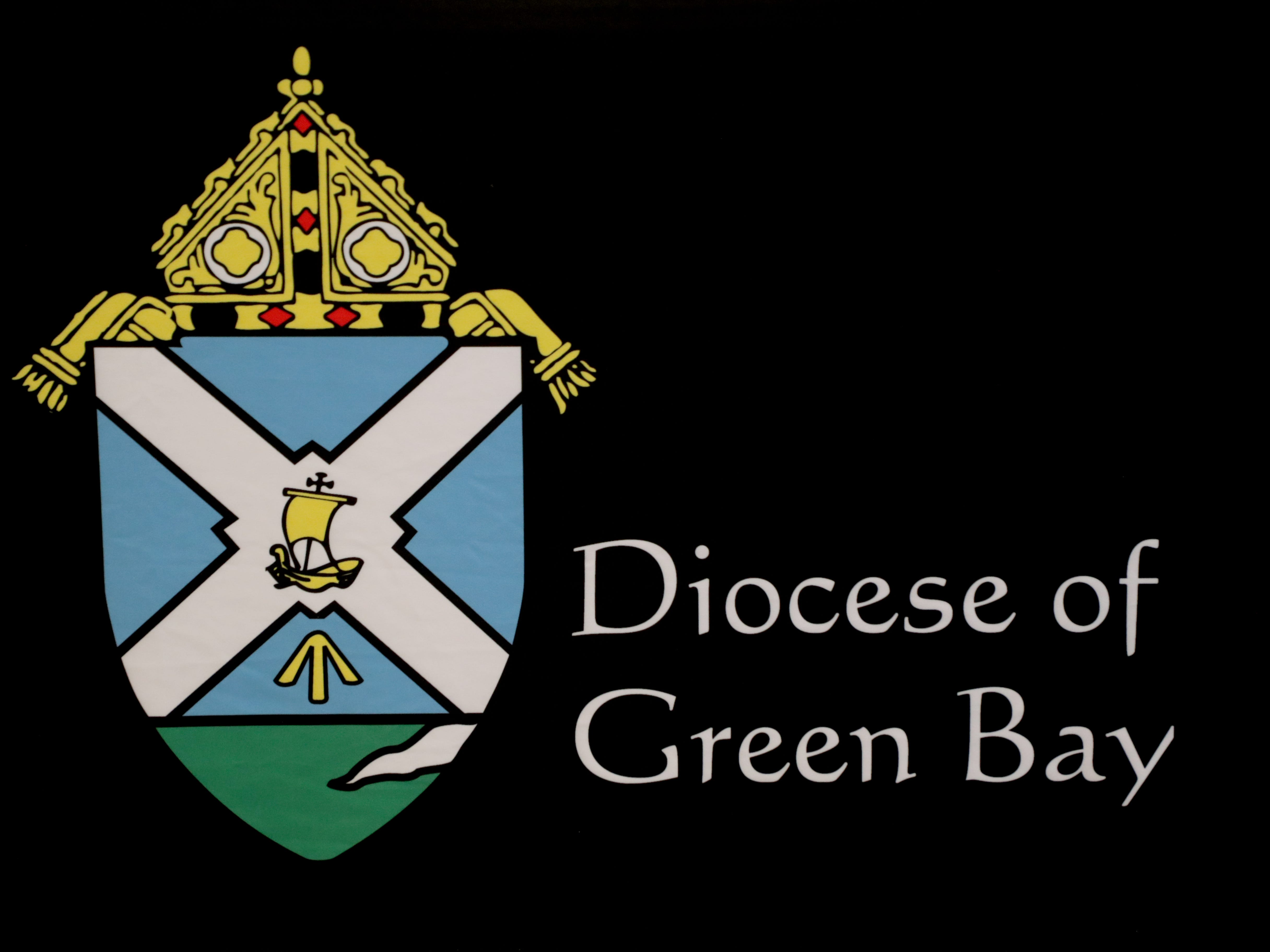 Logo for the Catholic Diocese of Green Bay.