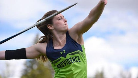 Shana Cosby is a junior at the University of Providence after completing a well-rounded track and field career at C.M. Russel High School. Cosby is a business major, and throws the javelin for the Argos.