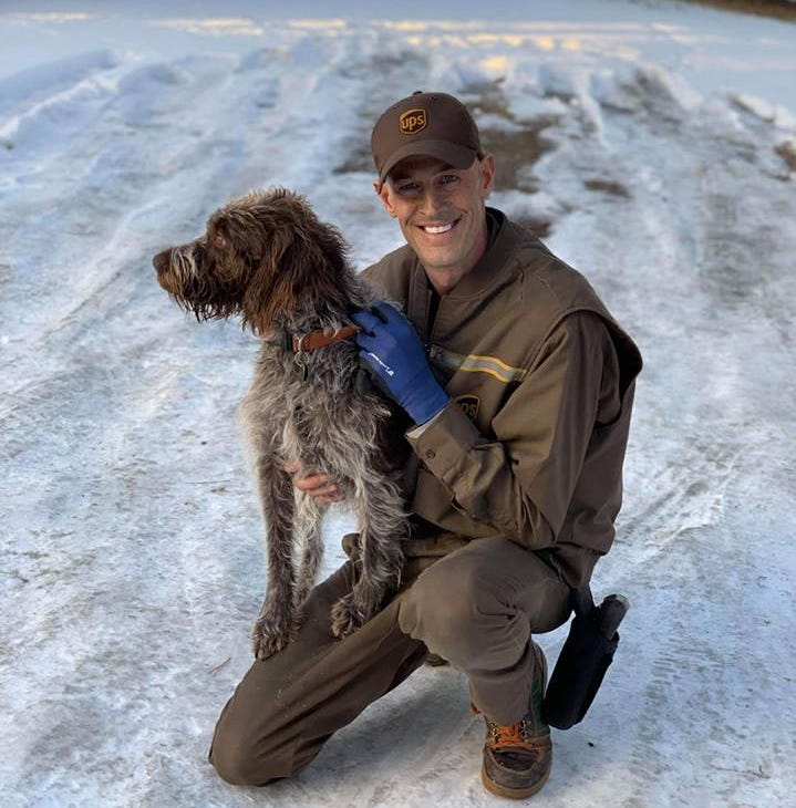 Bozeman UPS driver saves dog from drowning in icy pond
