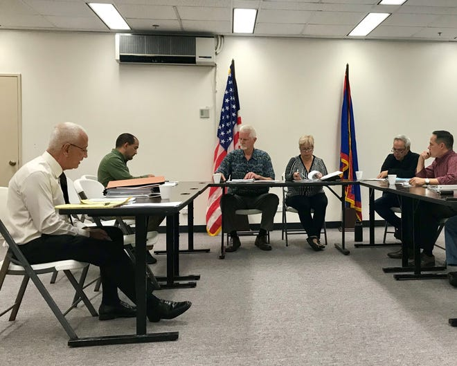 The Public Utilities Commission discusses the findings of an investigation into the transfer of 911 funds to the government's General Fund, conducted by commission's administrative law judge Frederick Horecky.