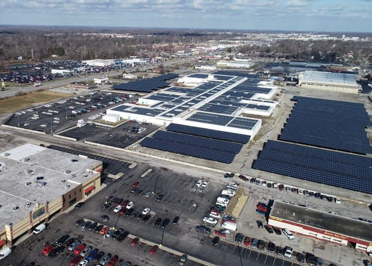 Eastgate as Lifeline Data Centers with solar farm in 2019.