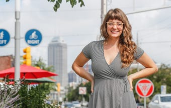 Ashley Brooks, of Indy Women in Food and A. Rose Hospitality on rebooting her life and new projects, on August 8, 2018.