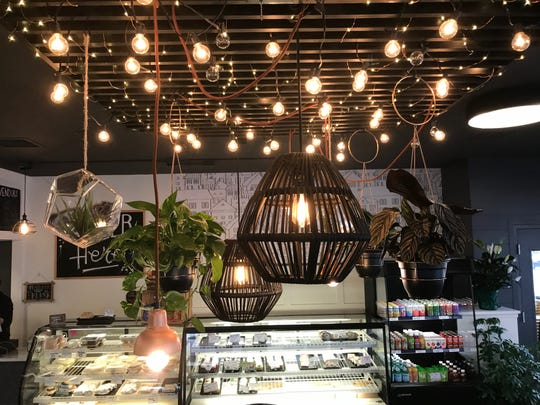 The interior of Dodge Street Coffeehouse in Iowa City is shown on Jan. 17, 2019.