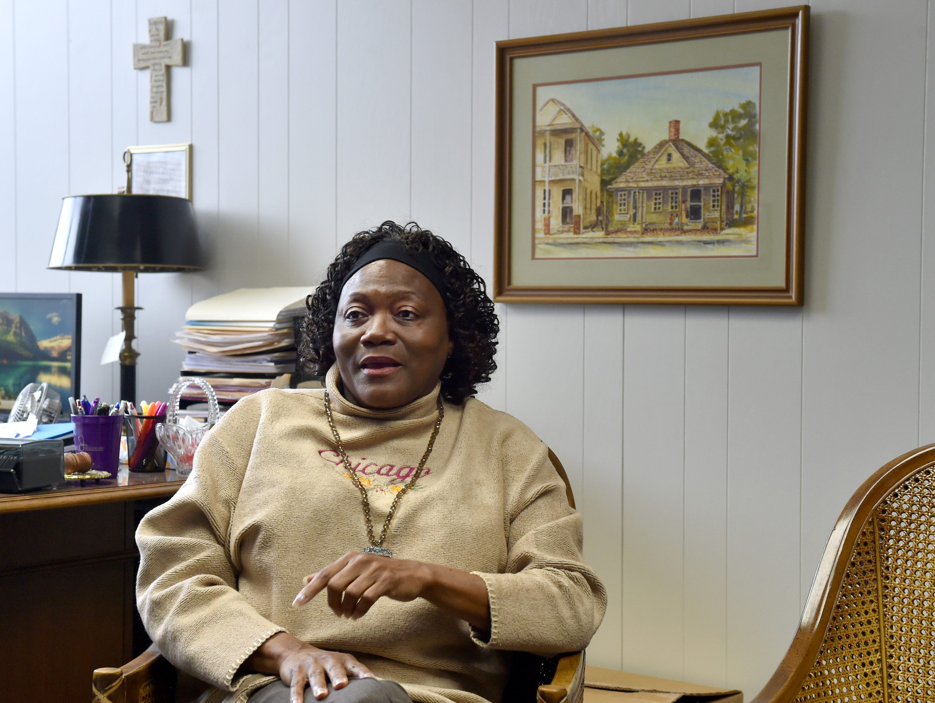 """""""It's just a memory you never forget .... because it was a nightmare,"""" said Shirley Sandifer, who is now the mayor of Hazlehurst, a town of about 3,800 residents a half hour south of Jackson. Monday, Jan. 14, 2019"""