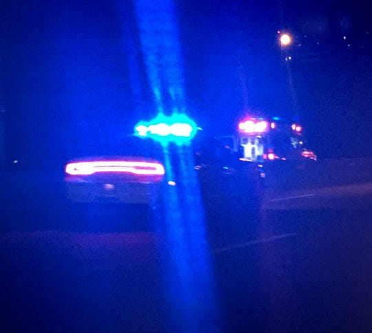 A Jackson police car and an ambulance are seen in this file photo.