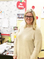 Jennifer Munsey, fourth-grade teacher at Brickey-McCloud Elementary.