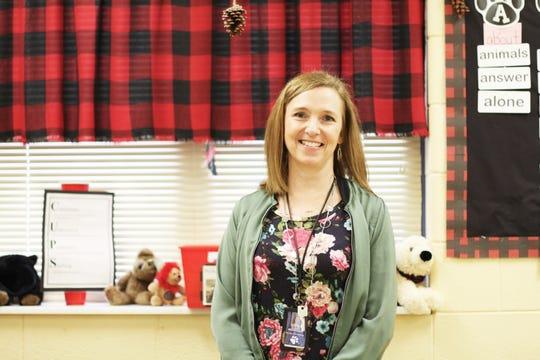 Susan Merryman, second-grade teacher at Brickey McCloud Elementary.