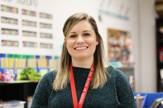 Britany Ellis, fourth-grade teacher at Halls Elementary School.
