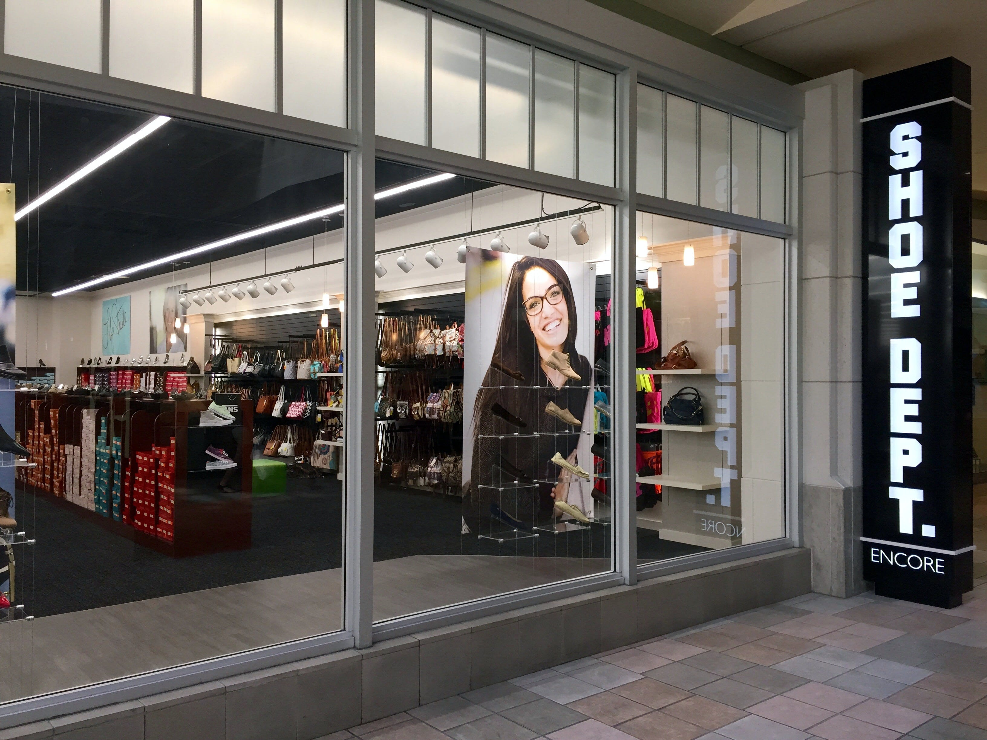 Shoe Dept. Encore, a national shoe retailer, will open Saturday, Aug. 1, 2015, in Knoxville Center Mall.