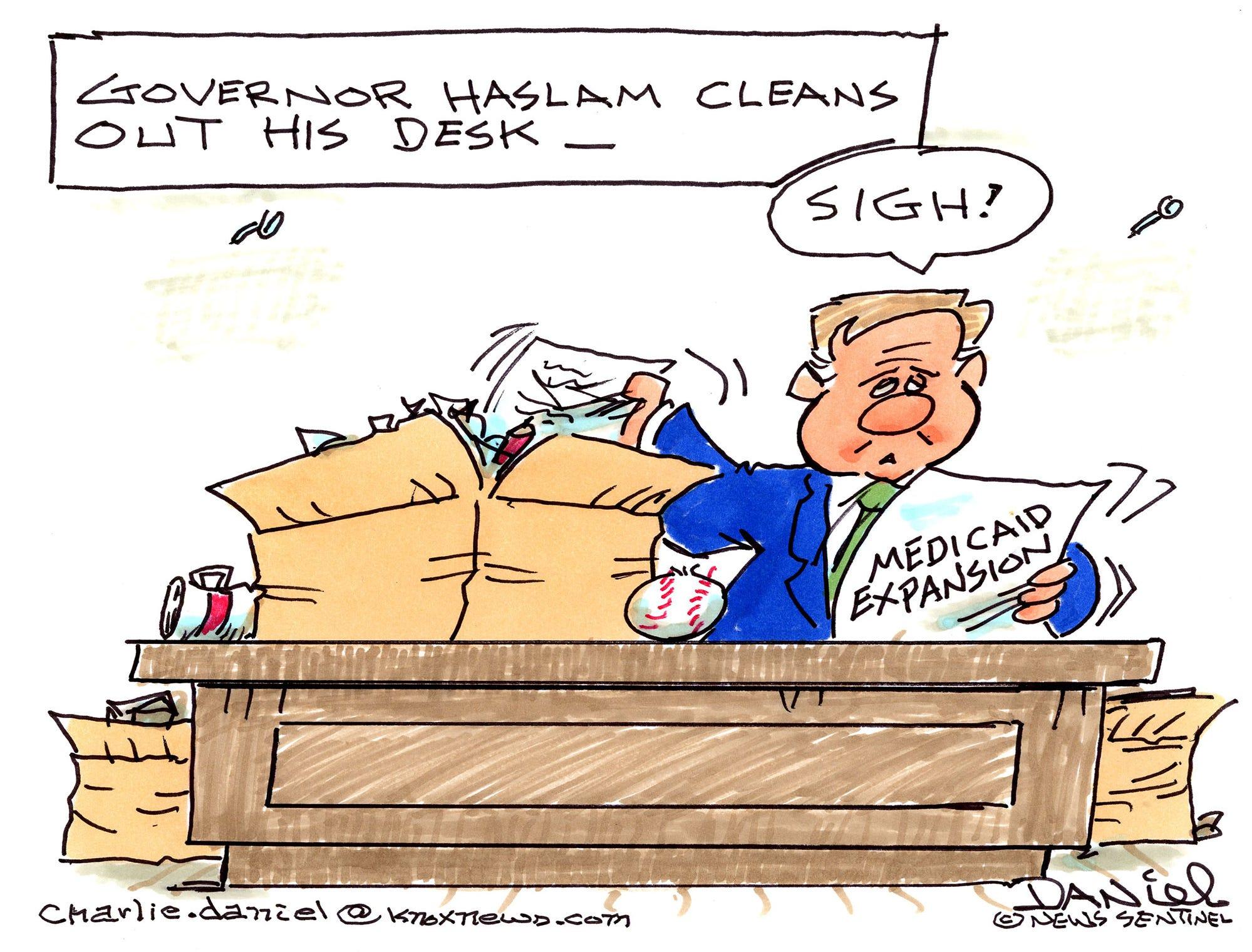 Charlie Daniel cartoon for Jan. 18, 2019