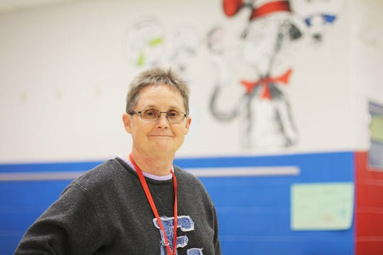 Sherri Allen, speech therapist at Halls Elementary School.