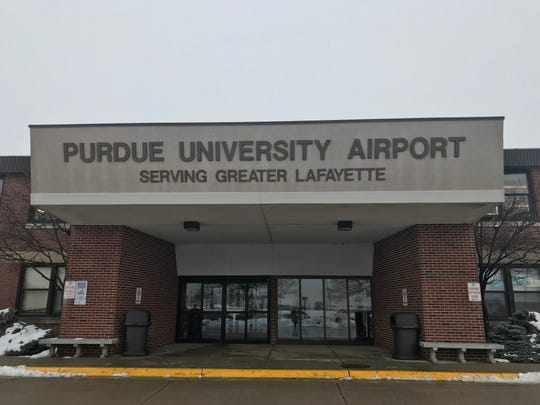 Air traffic controllers at the Purdue University Airport continue to work without pay. Three workers are furloughed until the shutdown is resolved.