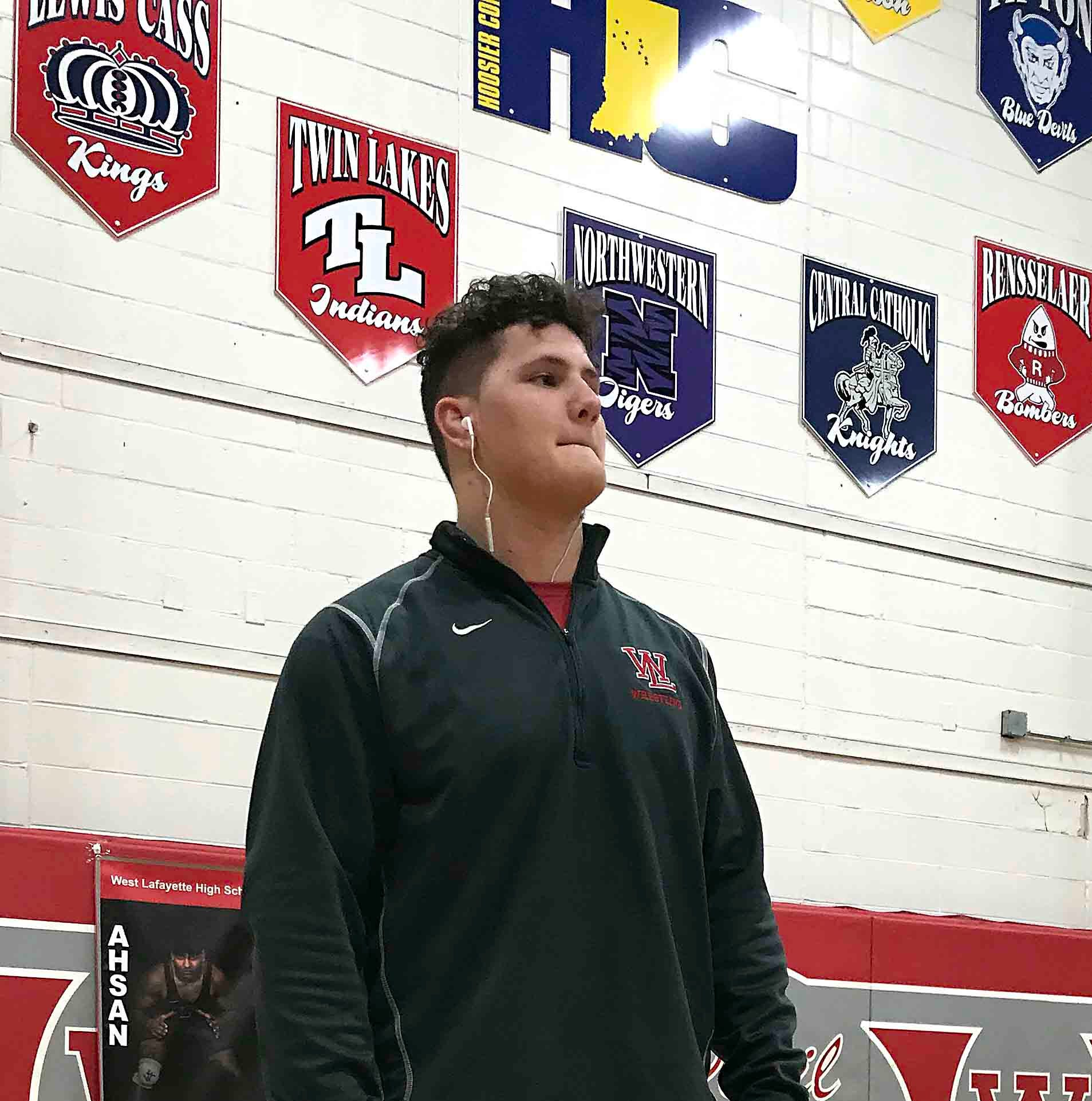 West Lafayette's Joey Kidwell seeks to become school's first state wrestling champ