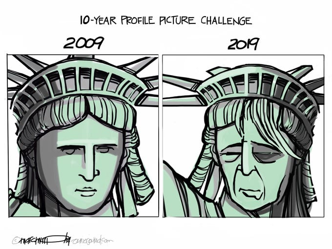 10-Year Profile Picture Challenge