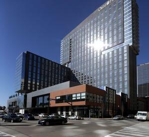 The Omni Hotel.