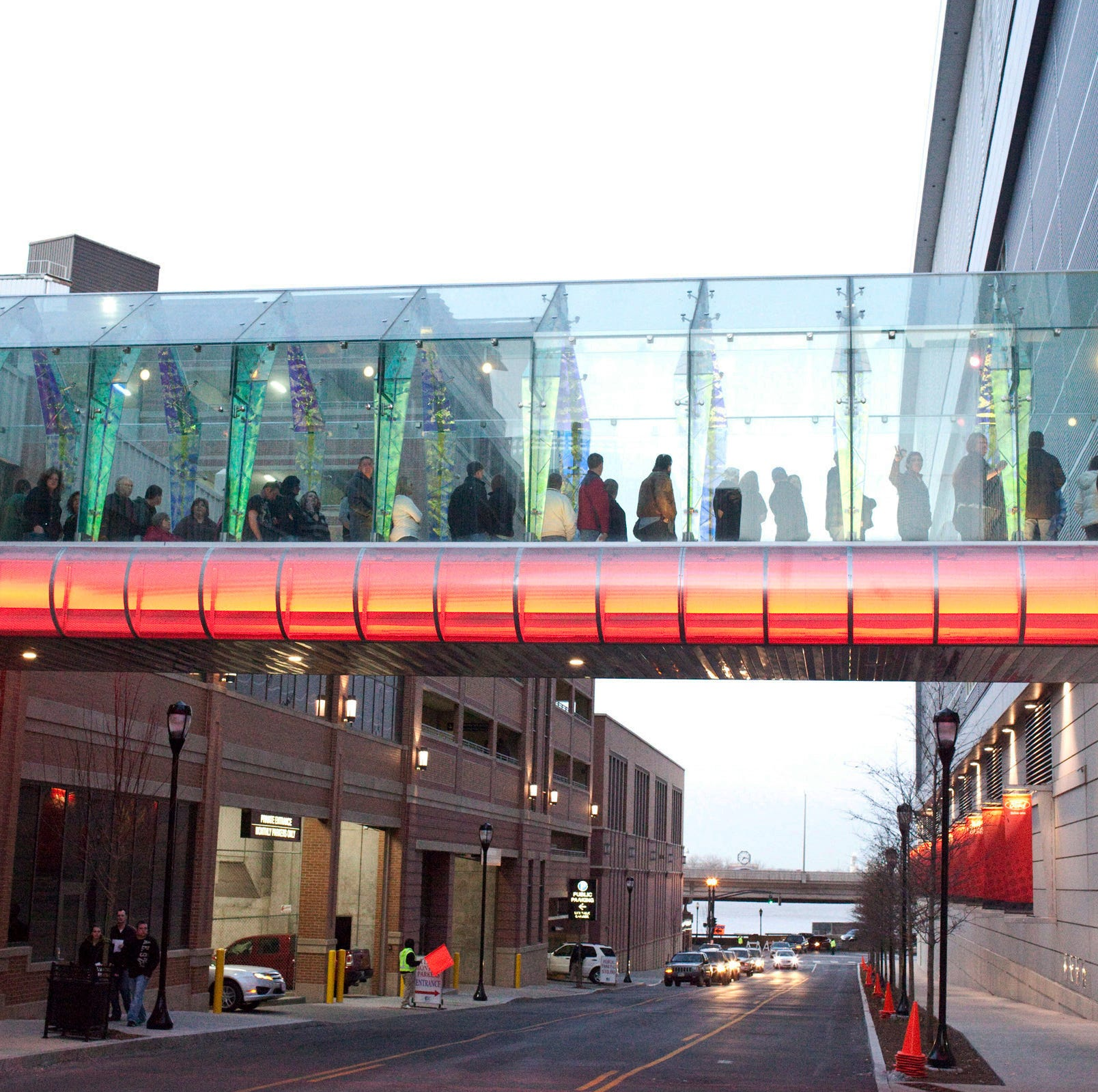 Louisville has a skywalk system, but most people don't know it's there