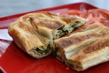 Located on Bardstown Road in Buechel, Borsalino Café and Deli serves up pita and delectable desserts.