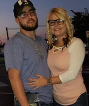 Quentin Brady, left, and his girlfriend, Jasmine Parks, right, suffered minor injuries in the fatal Dec. 24, 2018, crash that killed LMPD Det. Deidre Mengedoht.