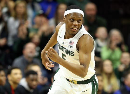 Michigan State point guard Cassius Winston was named a second-team midseason All-American by Sports Illustrated on Thursday.