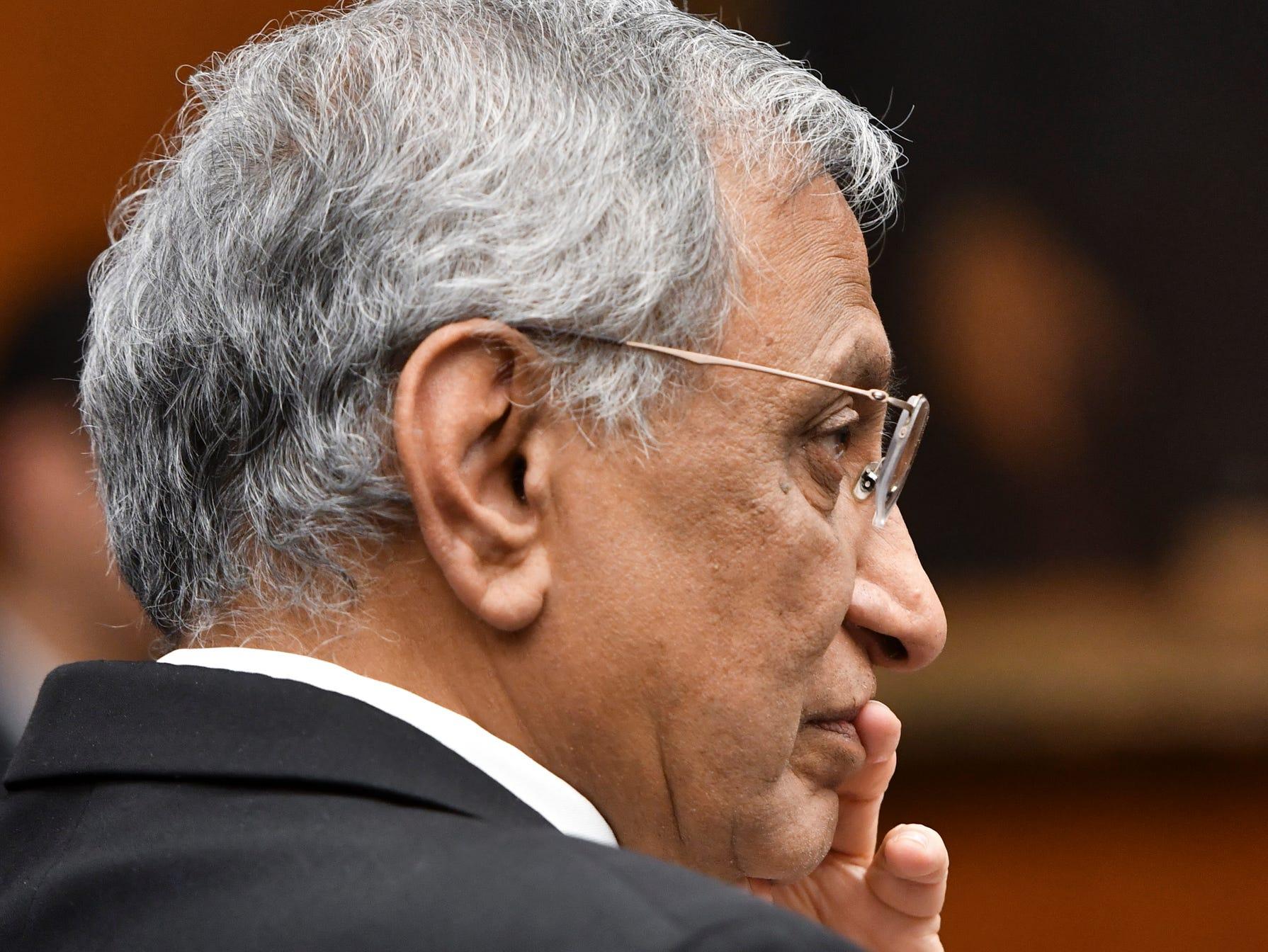 Michigan State Acting President Satish Udpa apologizes to Nassar survivors
