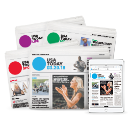 Tennessean subscribers now have access to the full USA TODAY e-edition