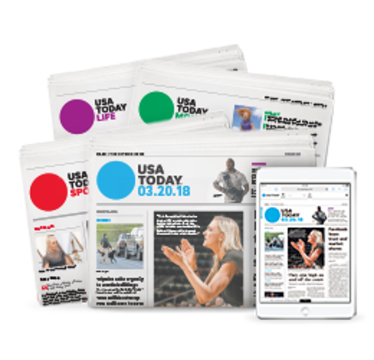 The full USA TODAY newspaper will now be available to subscribers online.