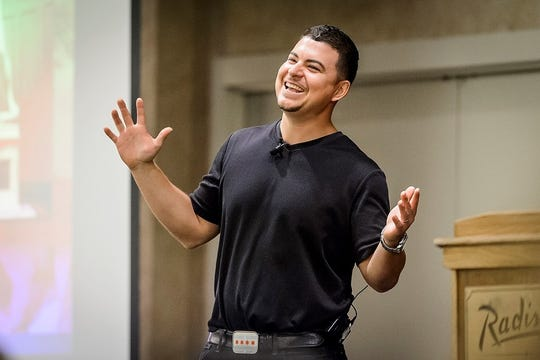 """Community development speaker Roberto Rivera will share his free presentation""""From Chaos to Community: Engaging in Community Growth during a Time of Crisis"""" at Silver Lake College of the Holy Family on Jan. 22."""